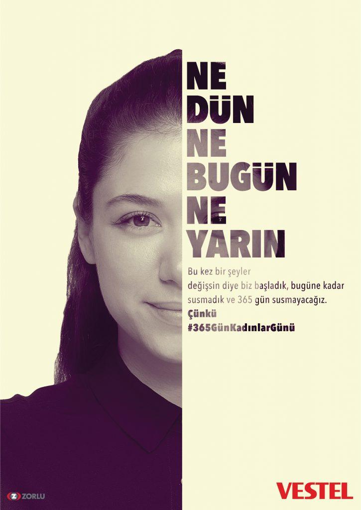 Vestel'den yeni kampanya: Sadece 8 Mart değil #365günkadınlargünü 1551768309 VESTEL KADINLAR GUNU 2 725x1024